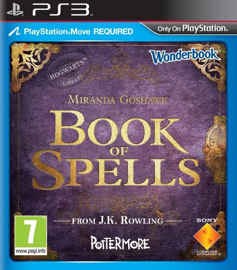 Wonderbook-BookofSpells PS3 Jaquette 002