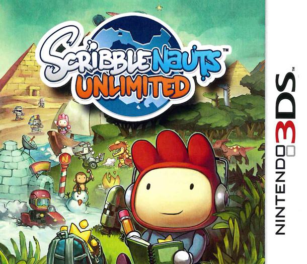 ScribblenautsUnlimited 3DS Jaquette 001