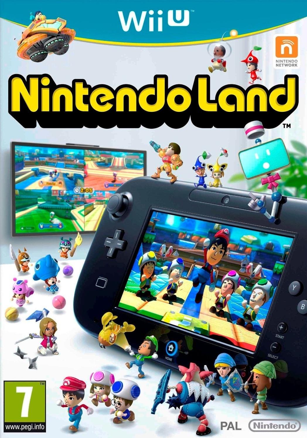 NintendoLand Wii U Jaquette 002