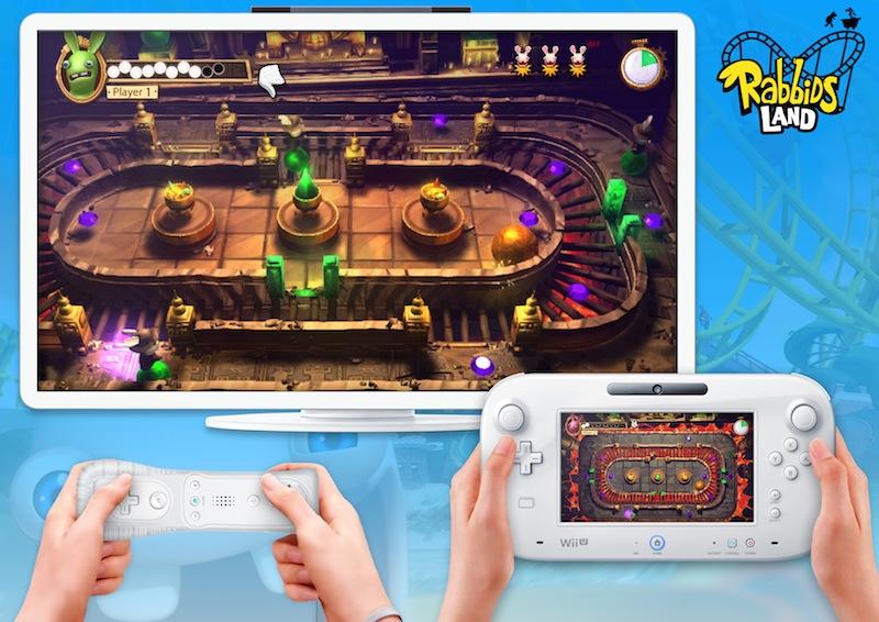 TheLapinsCretinsLand Wii U Editeur 001