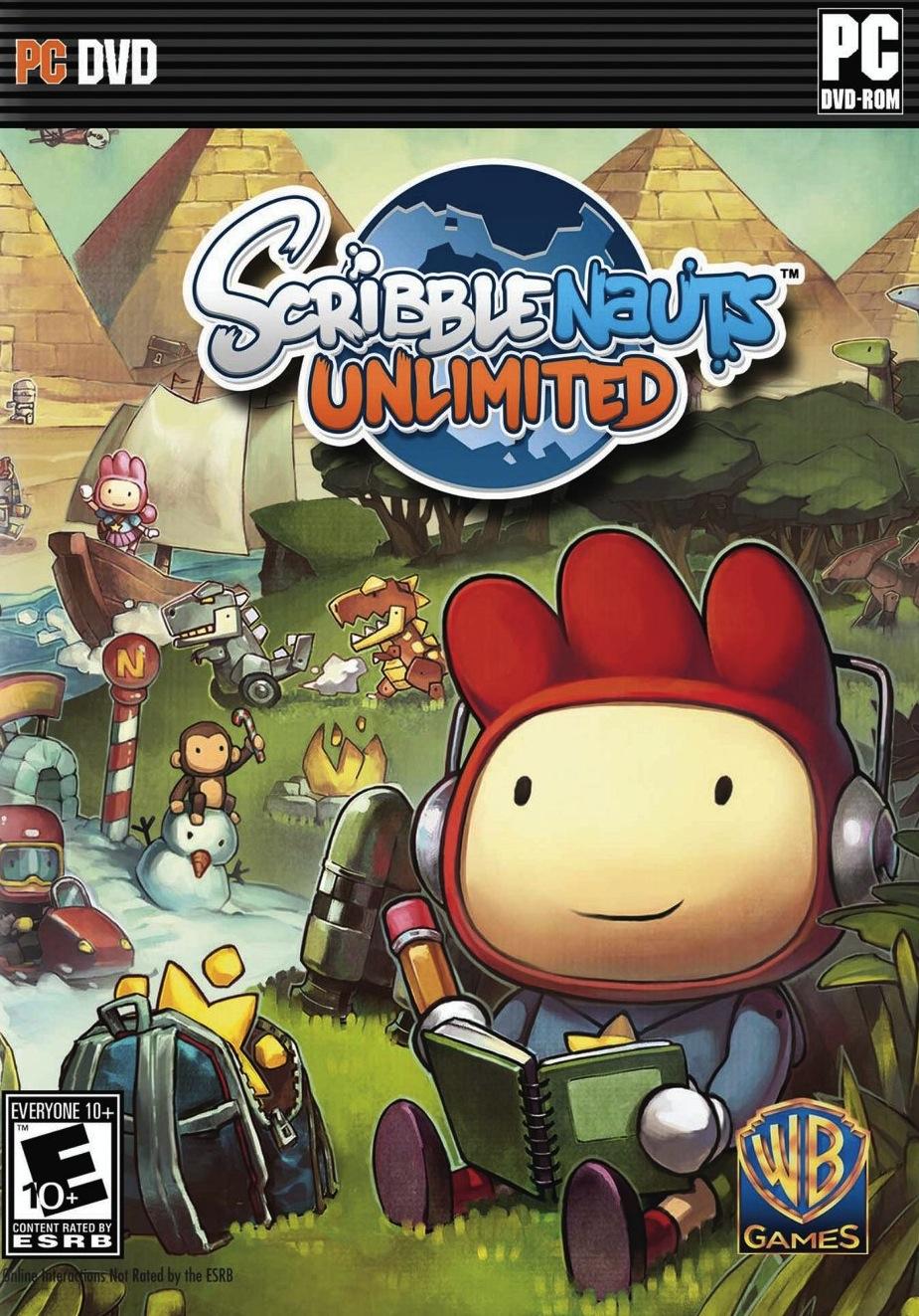 ScribblenautsUnlimited PC Jaquette 001