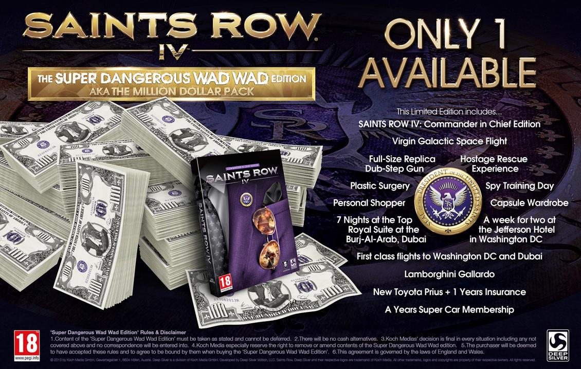 Saints Row IV million edition