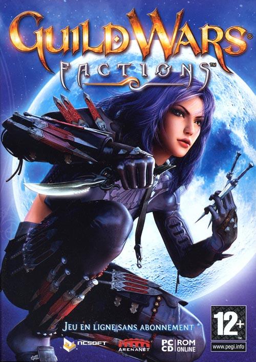 Guild Wars Factions PC Jaquette 001