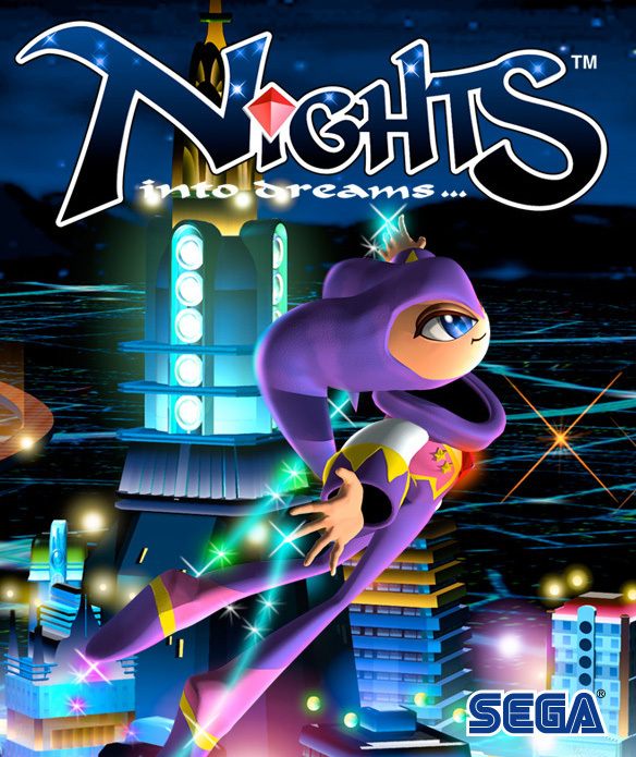 NiGHTS-IntoDreams... PS Network Jaquette 001