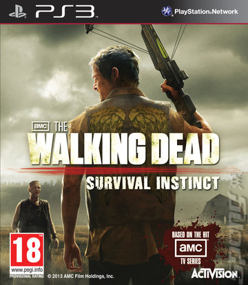 TheWalkingDead-SurvivalInstinct PS3 Jaquette 001