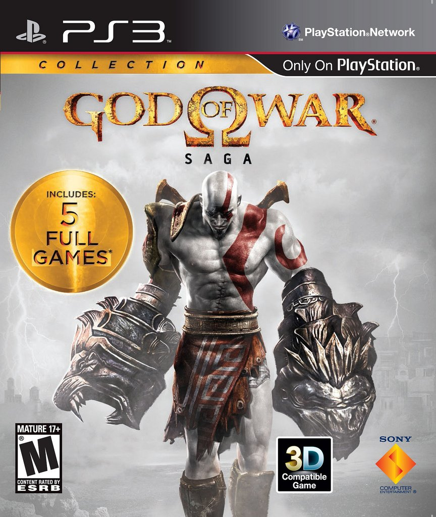 GodofWarSagaCollection PS3 Jaquette 001