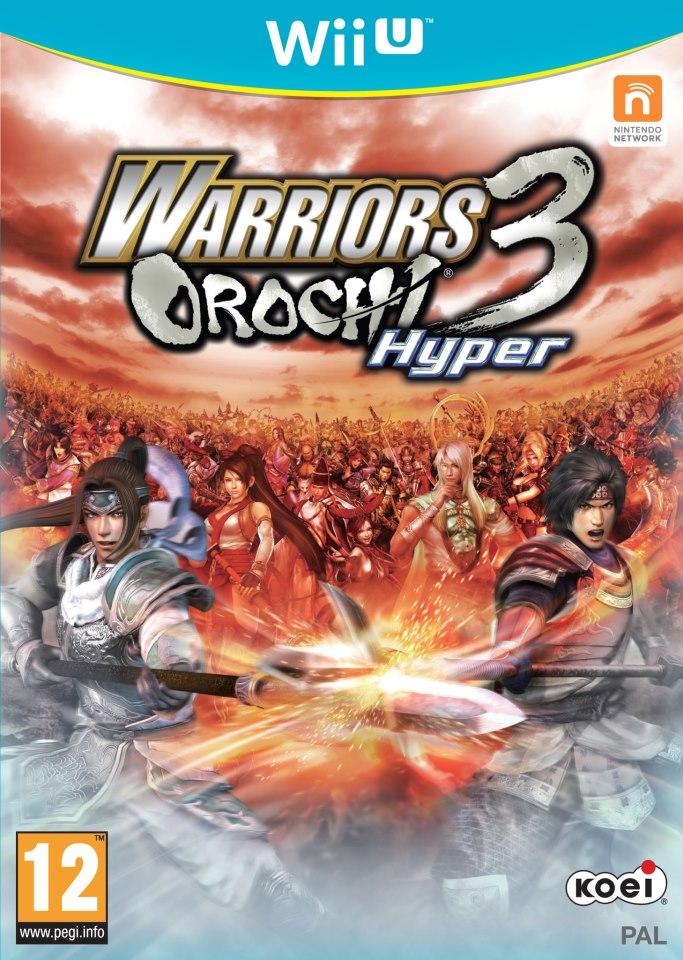WarriorsOrochi3 Wii U Jaquette 002