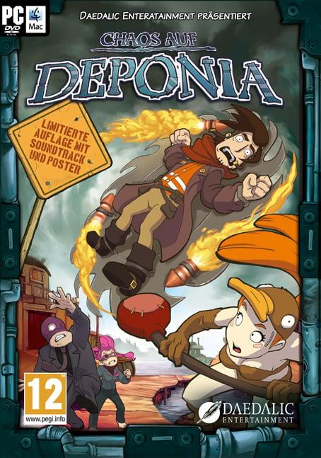 ChaosonDeponia PC Jaquette 001