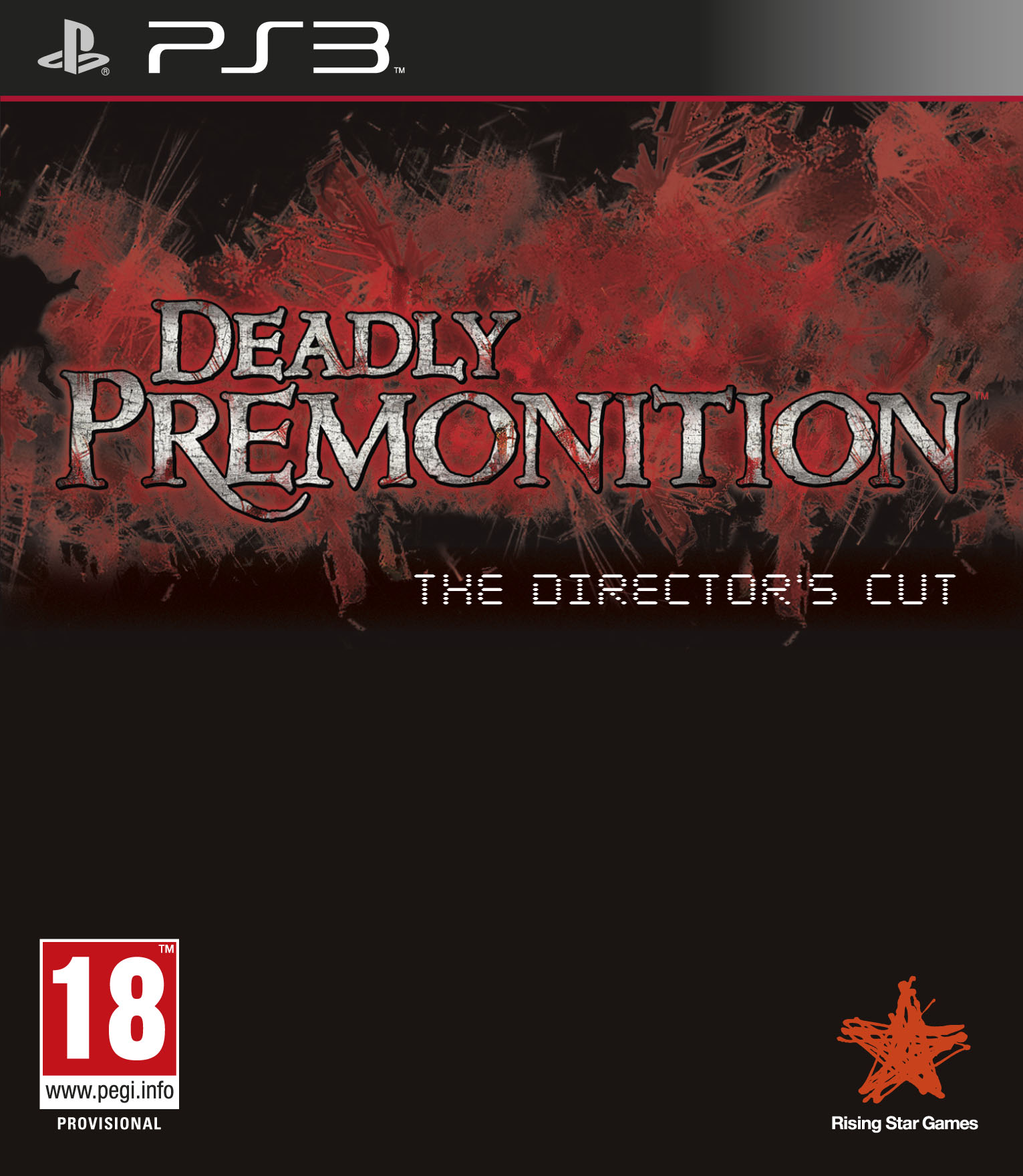 DeadlyPremonition-TheDirector-sCut PS3 Jaquette 001