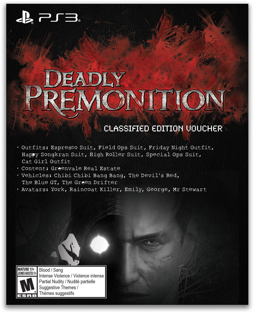 DeadlyPremonition-TheDirector-sCut PS3 Visuel 004