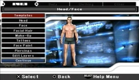 WWESmackdownVs.Raw2008 PSP Editeur 003