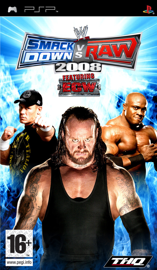 WWESmackdownVs.Raw2008 PSP Jaquette 001