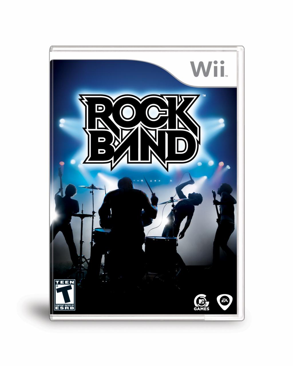 RockBand Wii Jaquette