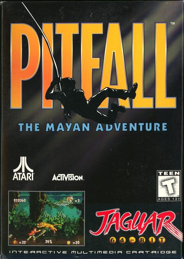 Pitfall-TheMayanAdventure Jaguar Jaquette 001