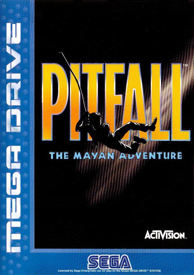 Pitfall-TheMayanAdventure Megadrive Jaquette 001