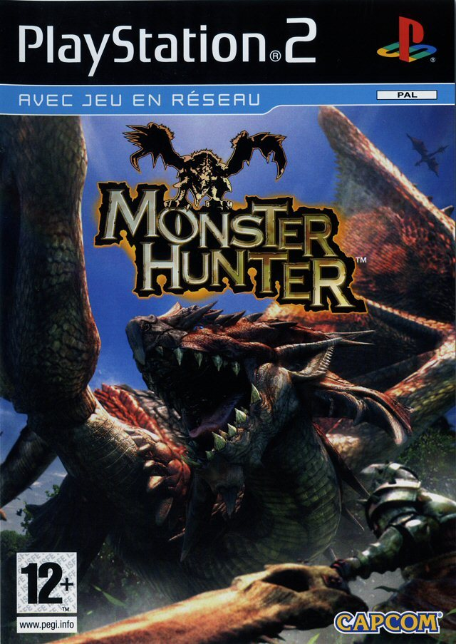 MonsterHunter PS2 Jaquette 001