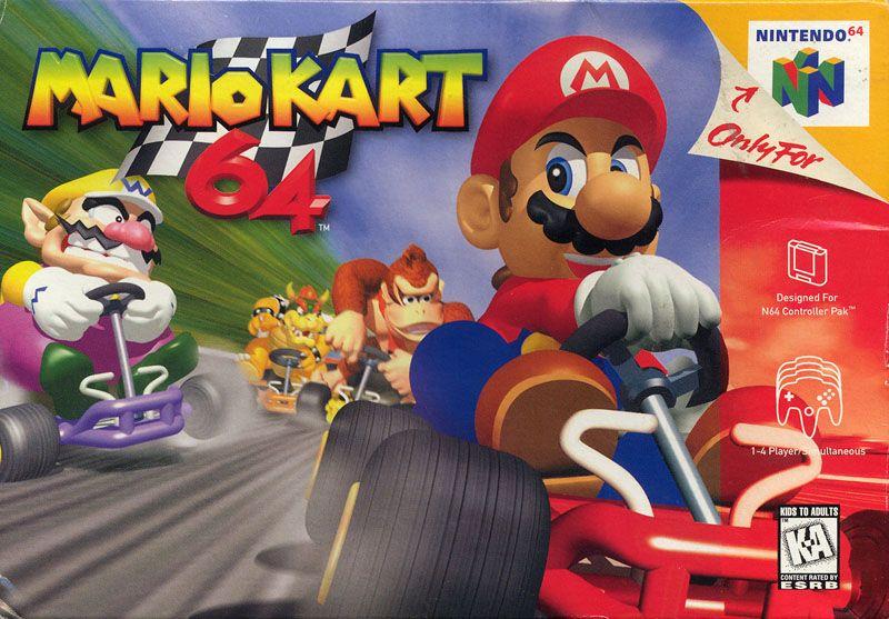 MarioKart64 N64 Jaquette 002