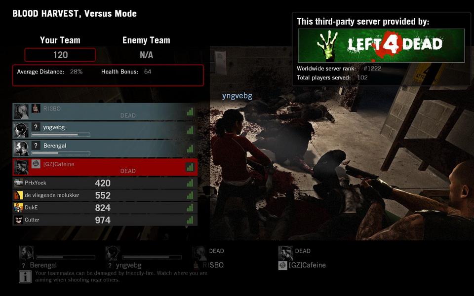 Left 4 Dead PC Test 21