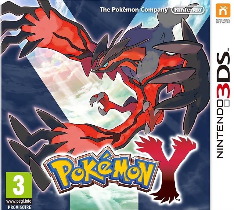 PokemonY 3DS Jaquette 001