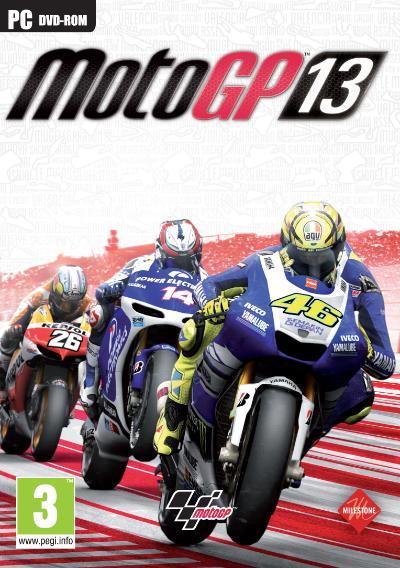 MotoGP13 PC Jaquette 001