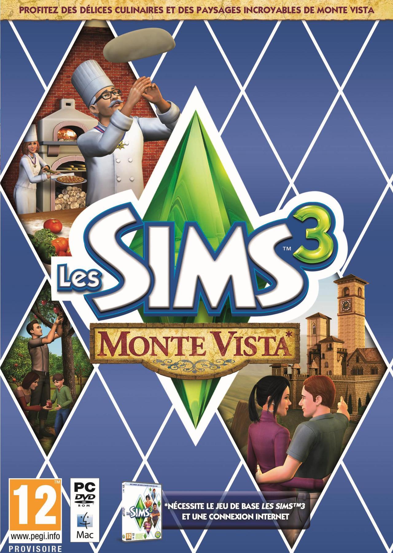 LesSims3-MonteVista PC Jaquette 001