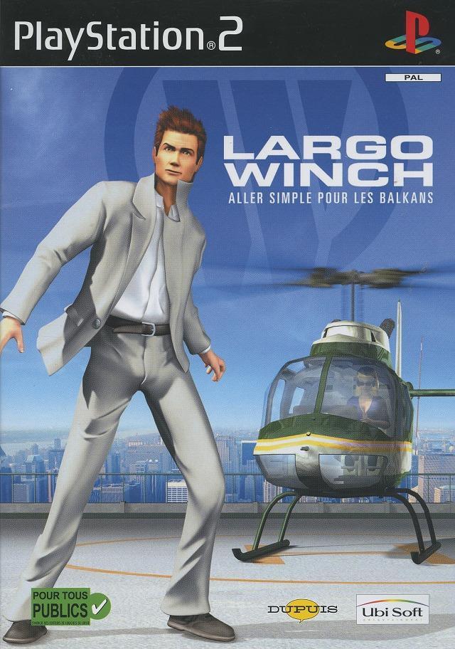 LargoWinch-AllerSimplepourlesBalkans PS2 Jaquette 001