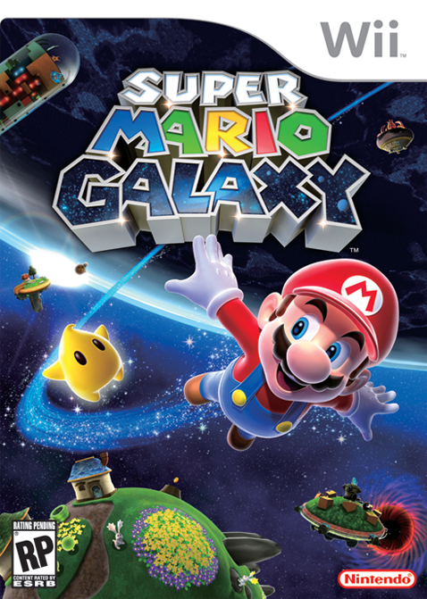 Supermariogalaxy Wii jaquette