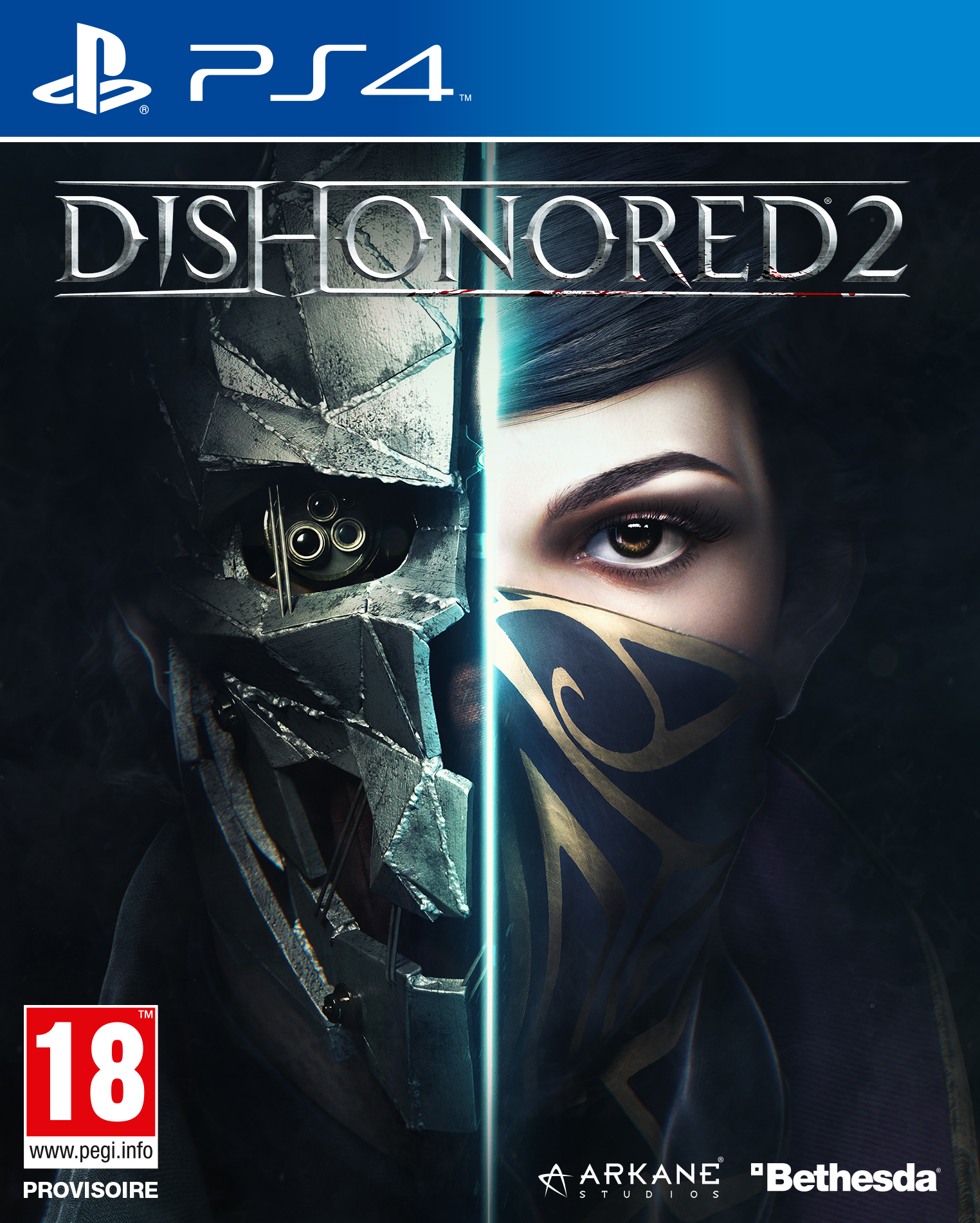 Dishonored2 PS4 Jaquette 001