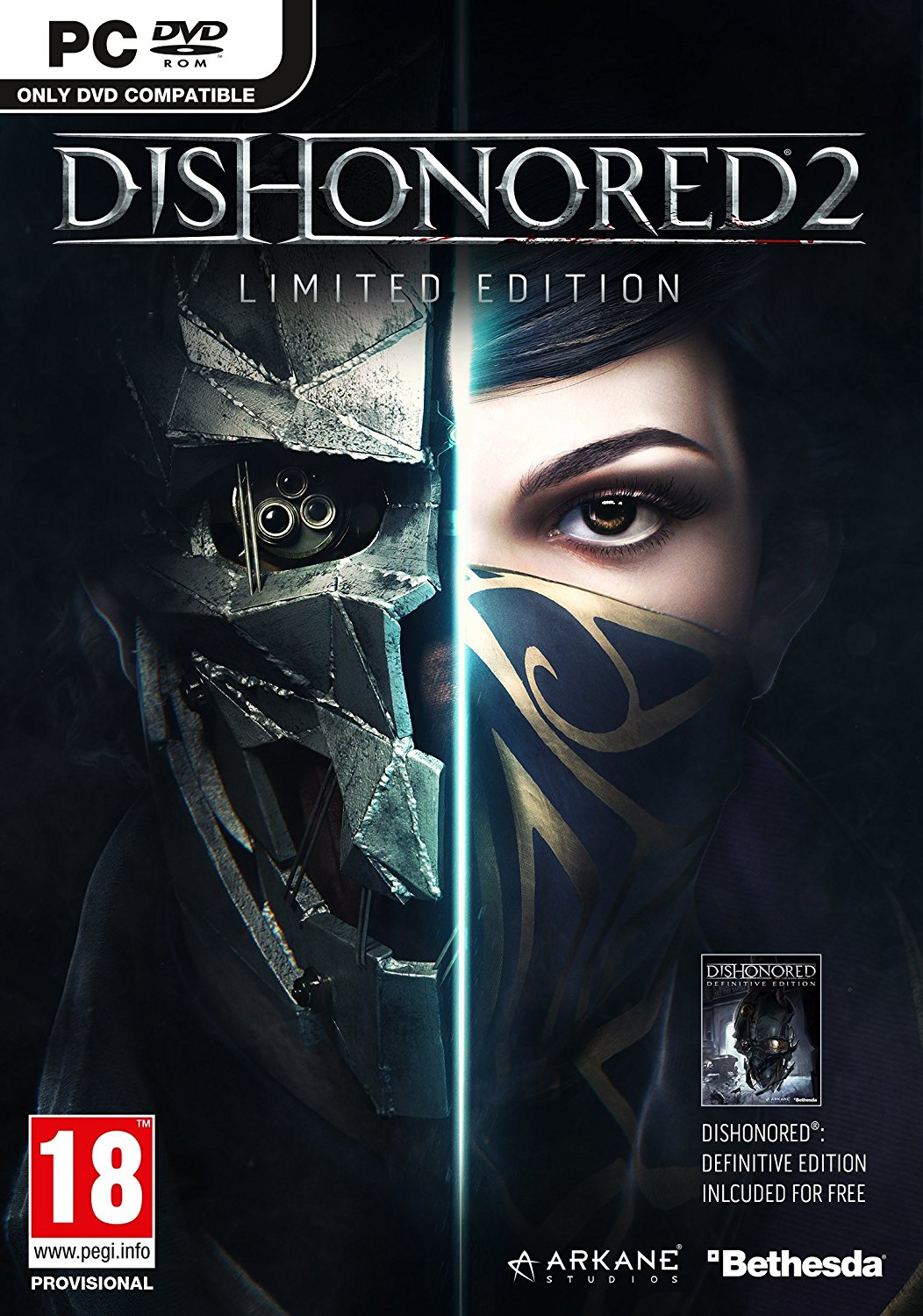 Dishonored2 PC Jaquette 002
