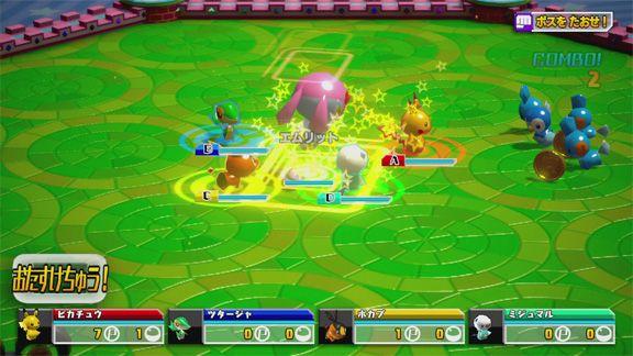 PokemonScrambleU Wii U Editeur 001