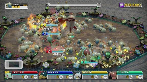 PokemonScrambleU Wii U Editeur 013