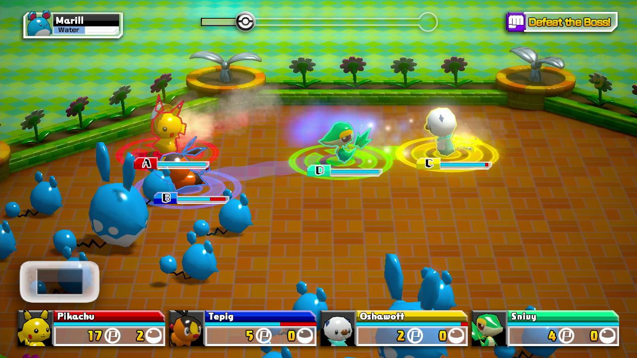PokemonScrambleU Wii U Editeur 025