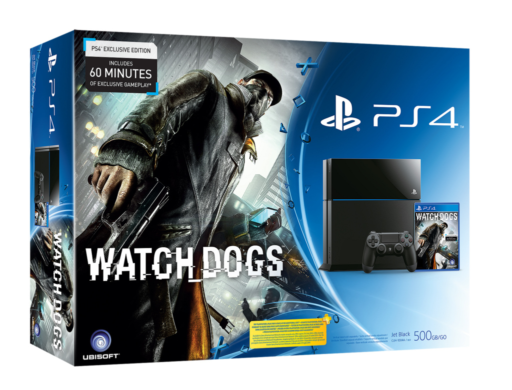Watch Dogs PS4 Jaquette 001