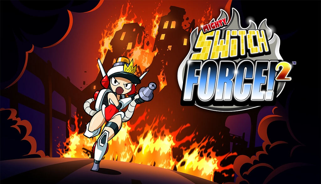 MightySwitchForce-2 3DS Jaquette 001
