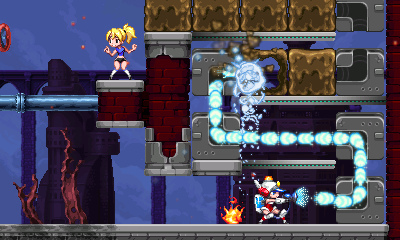 MightySwitchForce2 3DS Editeur 002