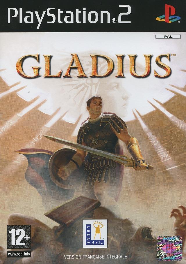Gladius PS2 Jaquette 001