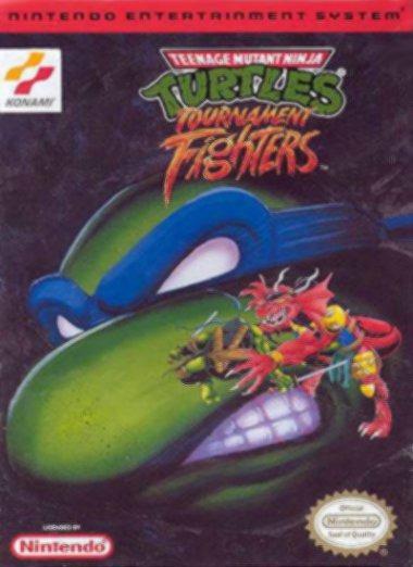 TeenageMutantNinjaTurtles-TournamentFighters NES Jaquette 001