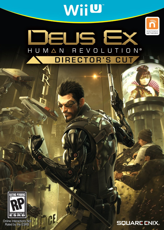 DeusEx-HumanRevolution Wii U Jaquette 001