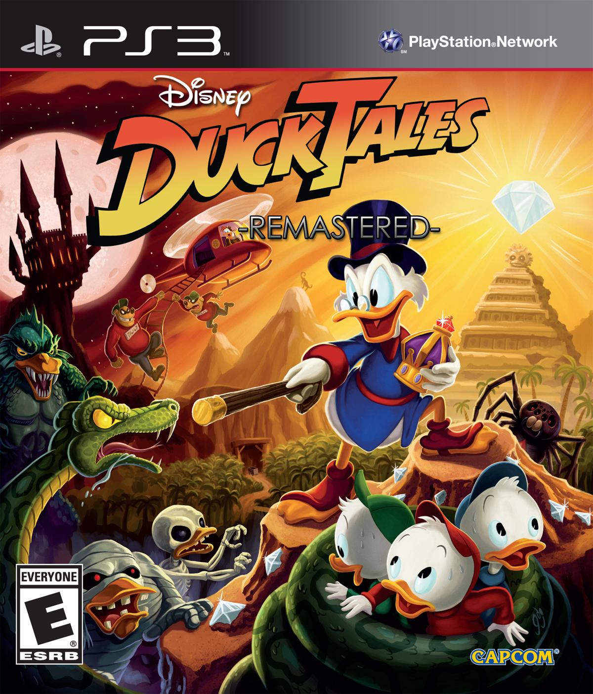 DuckTalesRemastered PS3 Jaquette 001