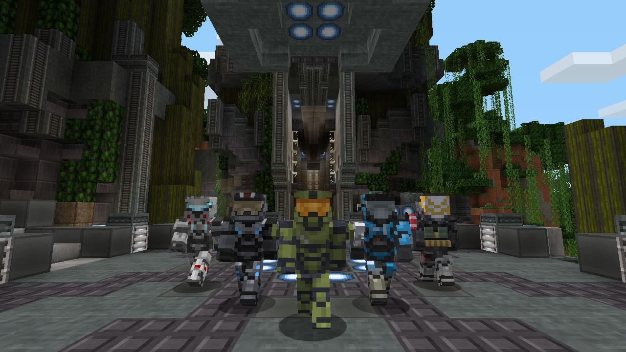 Minecraft HaloMashUpScreenshot01