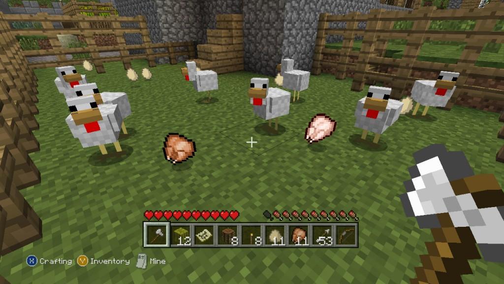 Minecraft XBLA Editeur 027