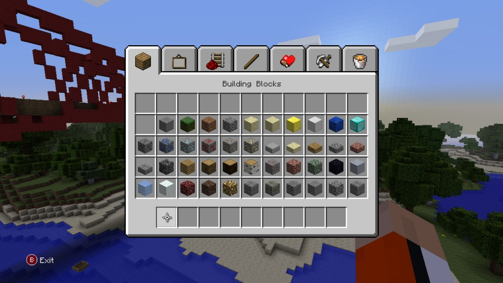 Minecraft XBLA Editeur 031