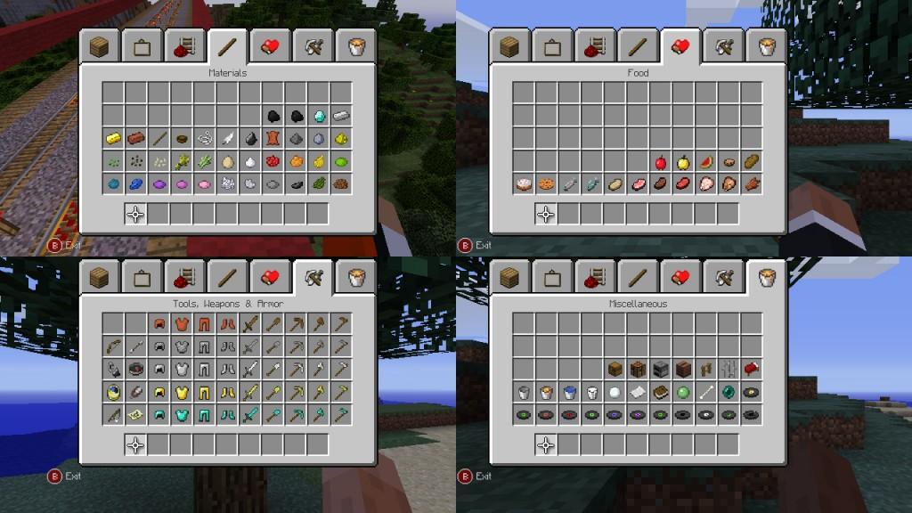 Minecraft XBLA Editeur 034