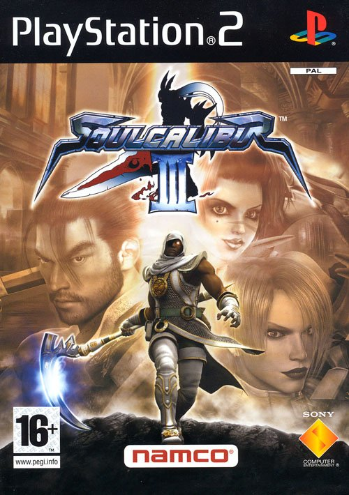 SoulCaliburIII PS2 Jaquette 001