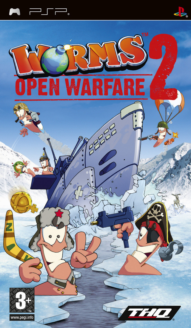 Worms-OpenWarfare2 PSP Jaquette 001