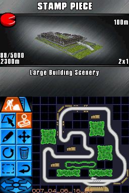 RaceDriver DS Editeur 005
