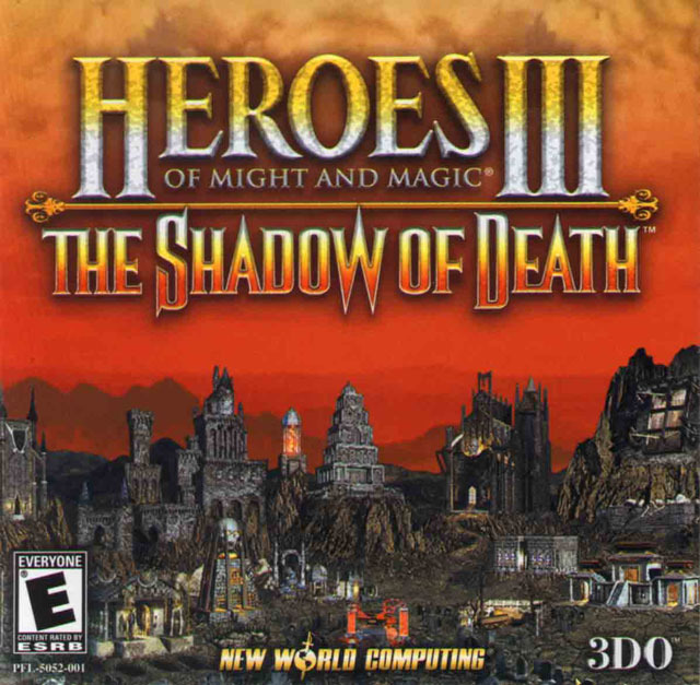 HeroesofMightandMagicIII-TheShadowofDeath PC Jaquette 001