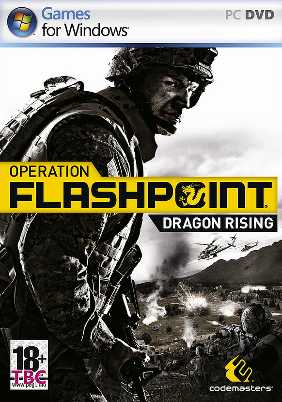 OperationFlashpoint2DragonRising PC Jaquette