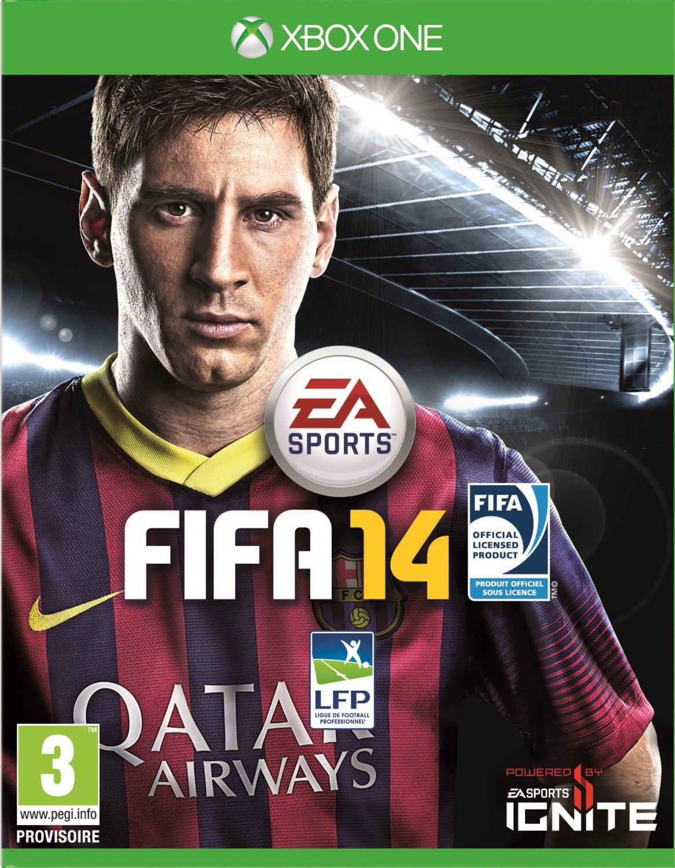 FIFA14 Xbox One Jaquette 001
