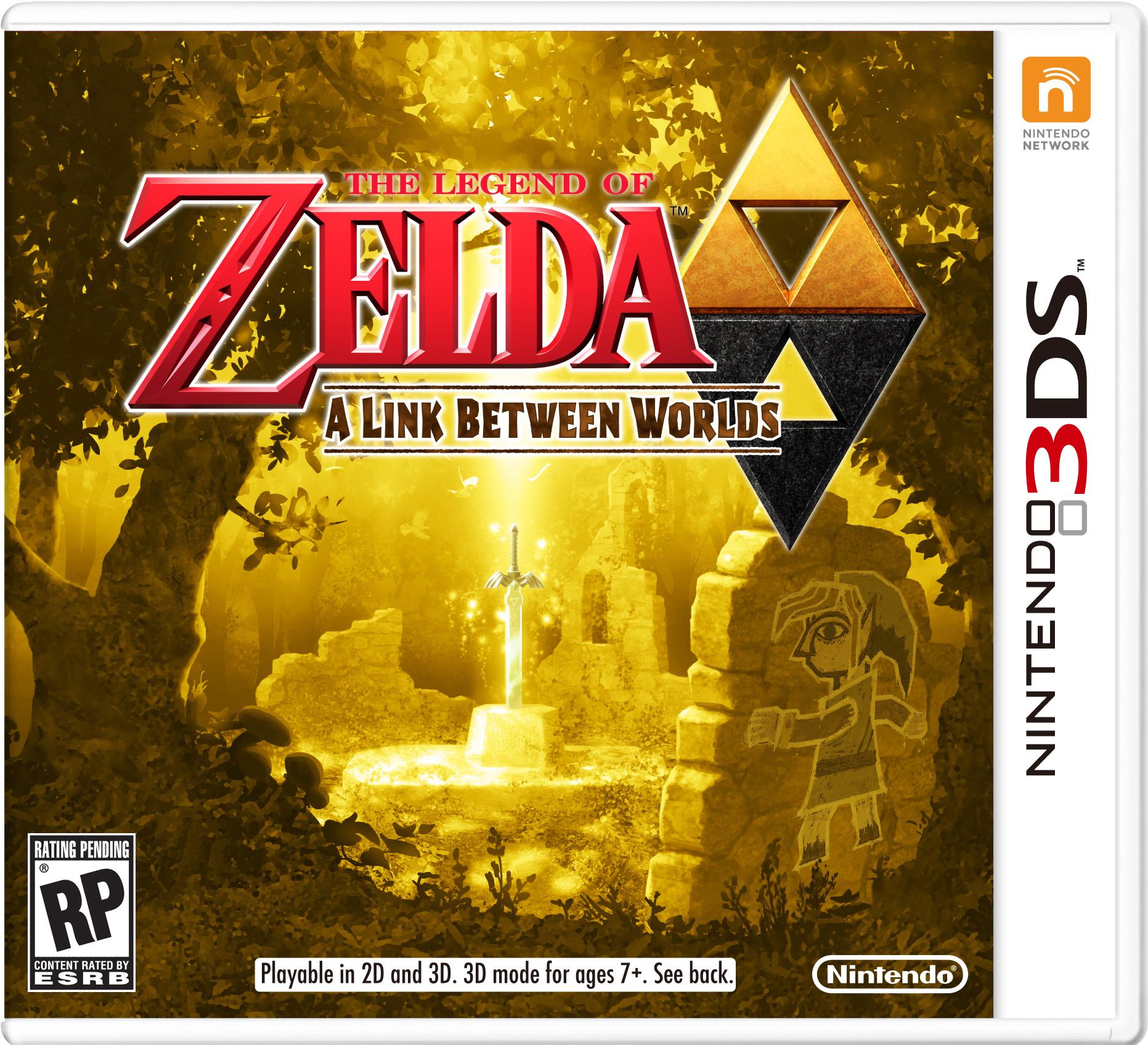 TheLegendofZelda-ALinkBetweenWorlds 3DS Jaquette 001